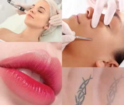 Dermaplaning, microneedling, Kissumlips y Removal